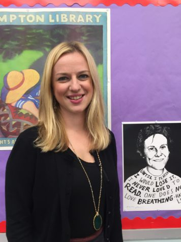 Mrs. Schmieder Enjoys Her Transition to Wantagh