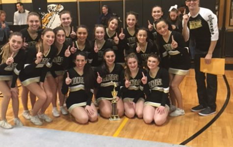 Cheerleading Team: The Best in Nassau County; Among the Best in the State and the Nation