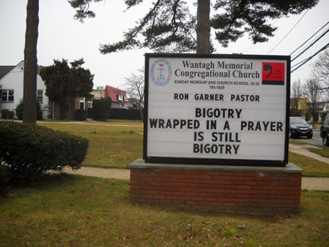 Wantagh Church Attracts Attention