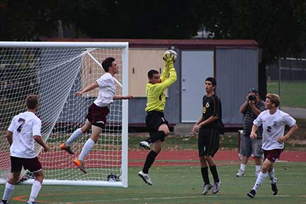 Boys Soccer Team Nets Conference Title and County Top Seed