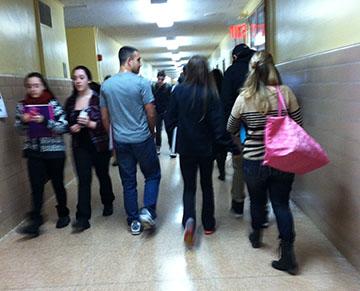 Proper Hall-Walking Etiquette
