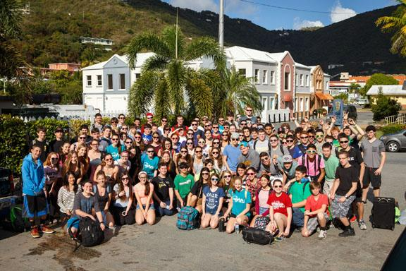 The W.H.S. Band Travels to Paradise