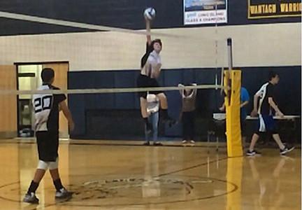 Boys' Volleyball Playoff Bound