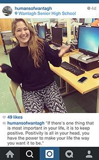 Instagram Captures Wantagh's Stories
