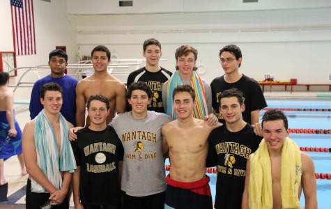 Boys' Swim Team Breaks 8 Records