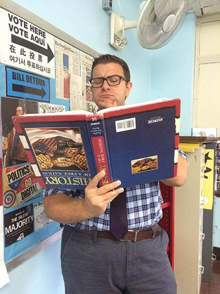 Wantagh Welcomes New History and Economics teacher Mr. Gill