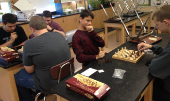 Chess Club: Relaxed but Competitive
