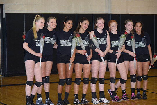 Girls' Volleyball Team Wins Conference