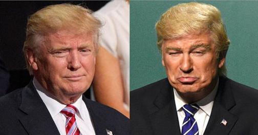 Baldwin and Trump in Twitter War