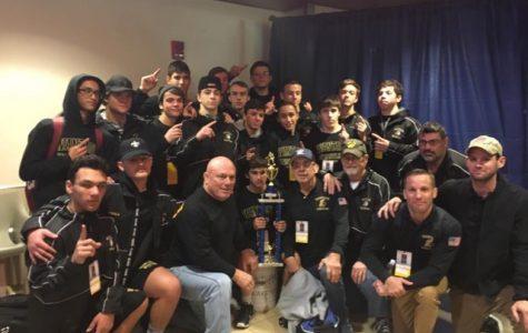 Wantagh Pins Long Beach for Nassau County Division I Championship