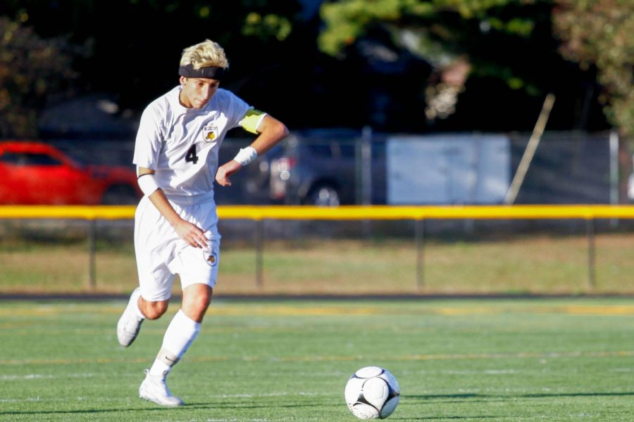 Boys' Soccer tri captain Chris Avena