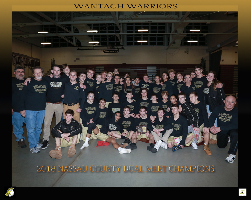 Wrestling Team Pins 31-0 Dual Record; And Wins 1st-ever State Dual Title, State Tourney Title, Nassau County Dual & Tourney Titles