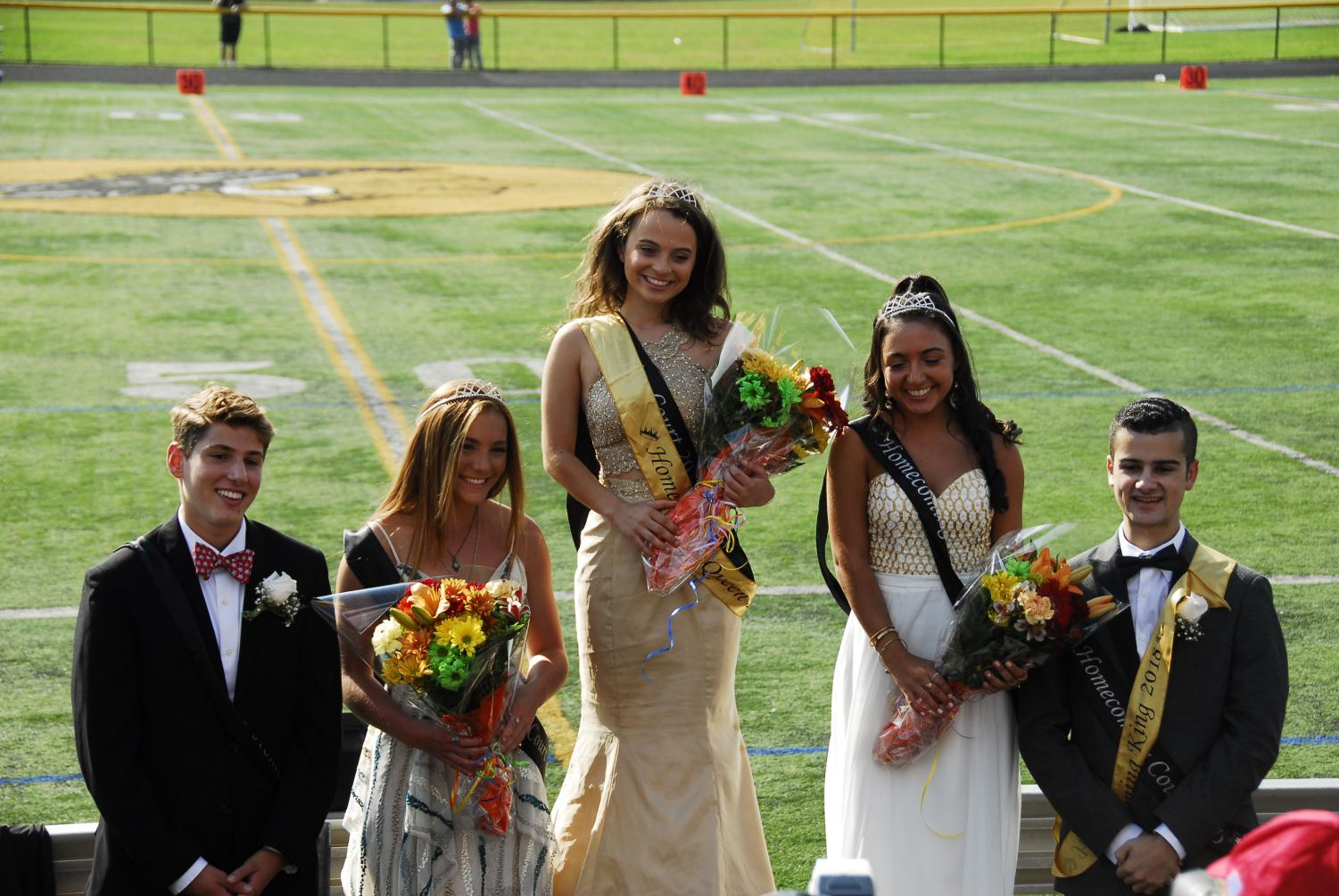 The 2018 Homecoming Court
