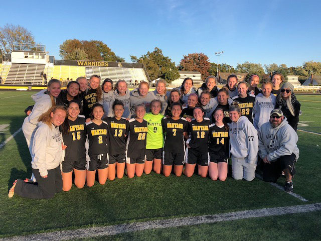 Girls' Soccer Wins in O.T. in Playoff Quarterfinal