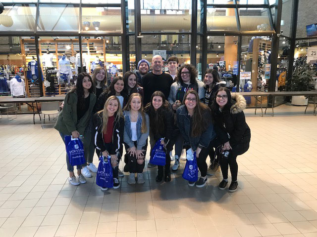 Wantagh Journalists Return to Hofstra for Press Day