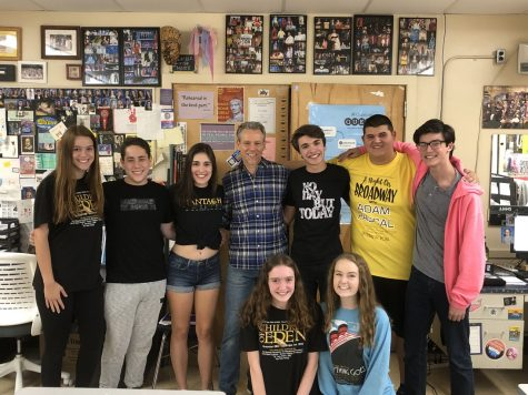 Binghamton (Bing) Crosbys Visit Wantagh High School