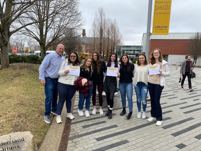 Journalism Students Capture Three Awards at Adelphi Contest