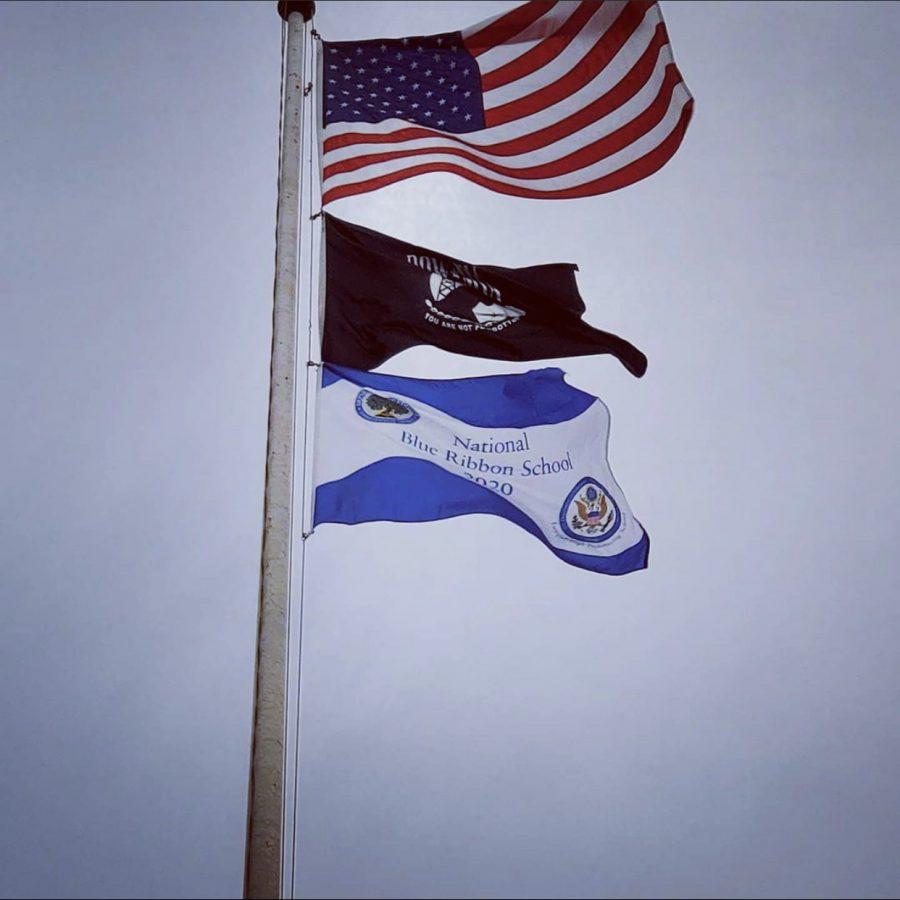 Blue+Ribbon+Flag