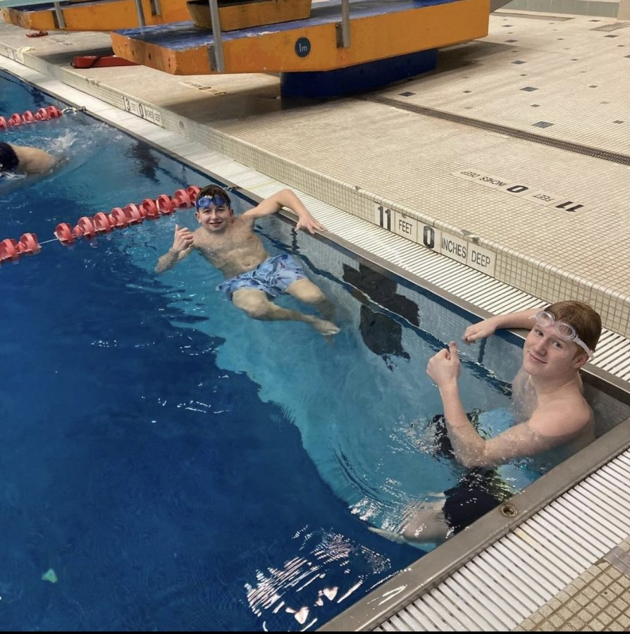 The Swim and Dive Team has been able to gain a few new members this season.
