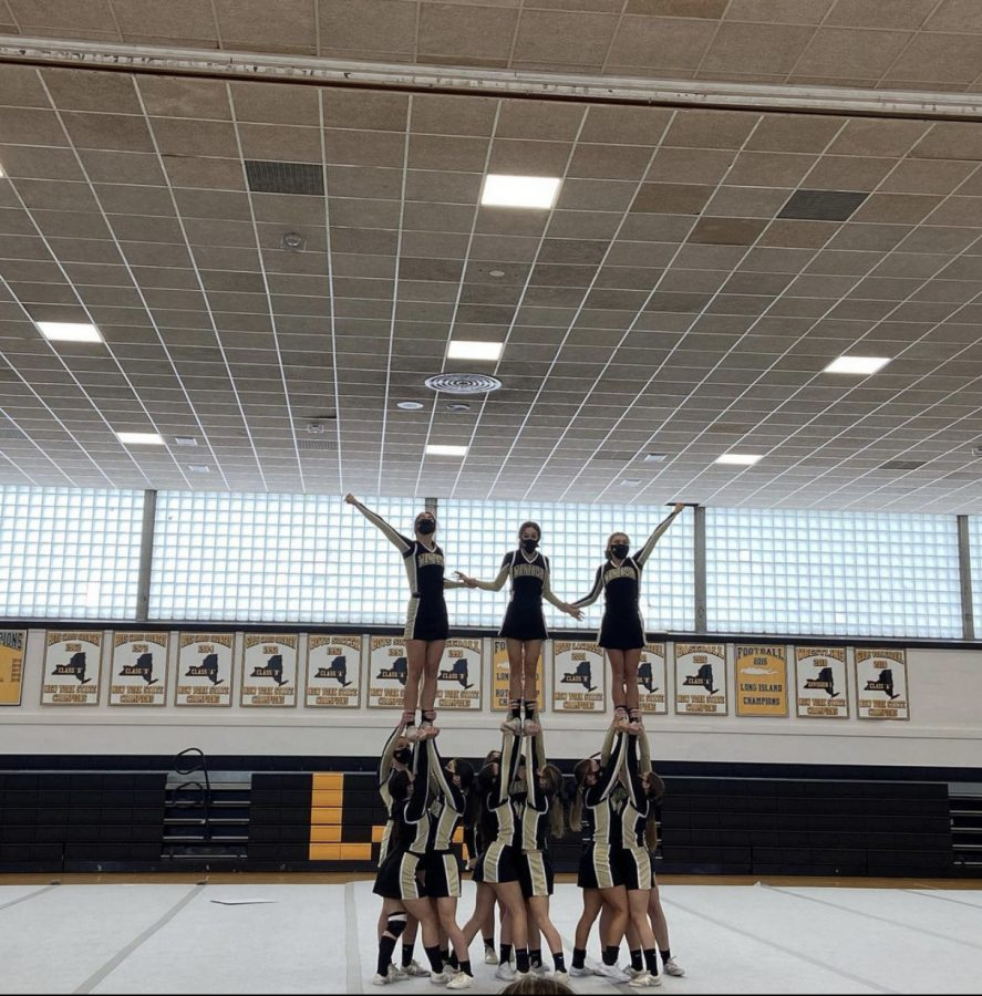 The Wantagh Warriors hosted its first cheer competition with new regulations in place.