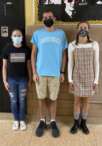 Seniors Emma Alexander, Chris Morale, and Julianna Rose have created a club dedicated to STEM education.